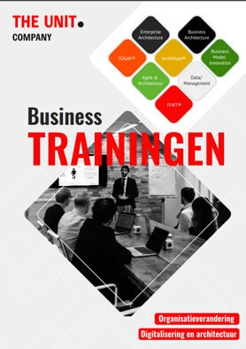 Business Trainingen flyer - The Unit Company